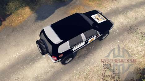 ВАЗ-21236 Chevrolet Niva black for Spin Tires