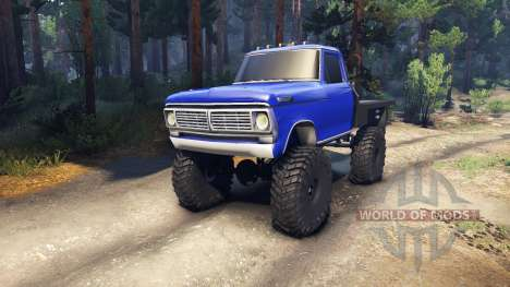 Ford F-100 v1.0 for Spin Tires