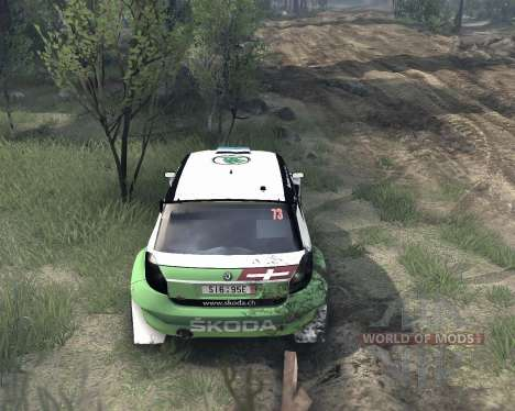 Skoda Fabia S2000 for Spin Tires