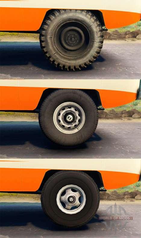 UAZ-450 V [13.04.15] for Spin Tires