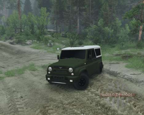 UAZ 2966 for Spin Tires