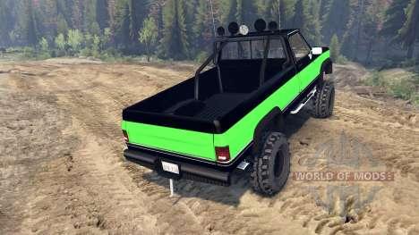 Chevrolet K20 Hunter for Spin Tires