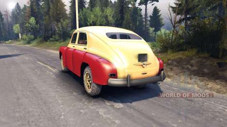 GAZ-M-20 Victory for Spin Tires