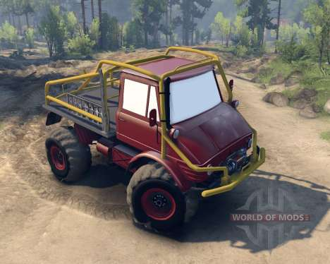 Unimog SWB for Spin Tires