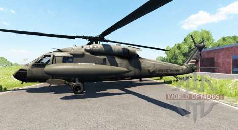 Sikorsky UH-60 Black Hawk for BeamNG Drive