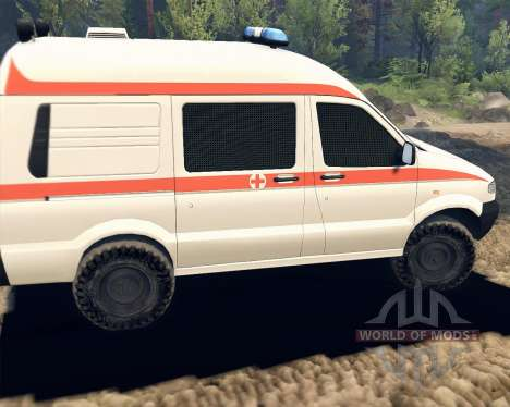 UAZ 27722 for Spin Tires