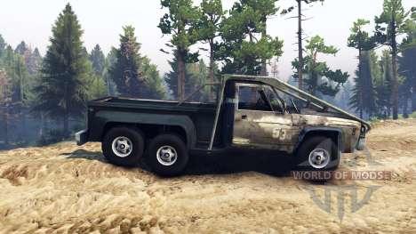 Chevrolet C-20 custom for Spin Tires