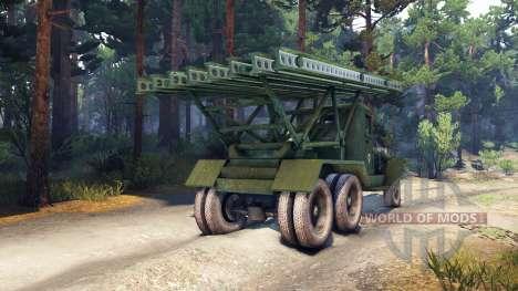 ZiS-5 BM-13 for Spin Tires