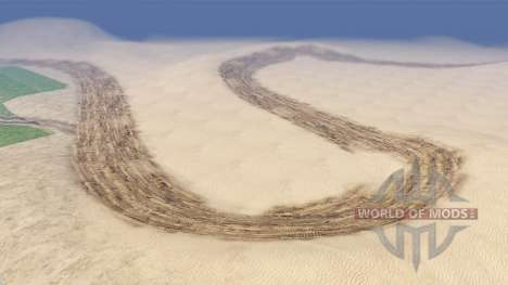 Drift map for Spin Tires