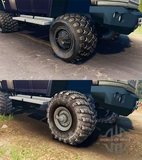 GMC TopKick C4500 Ironhide for Spin Tires