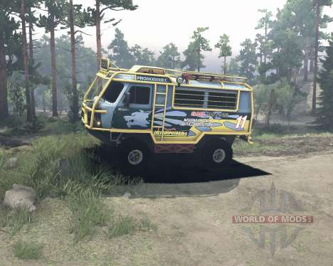 UAZ 3909 off-road for Spin Tires