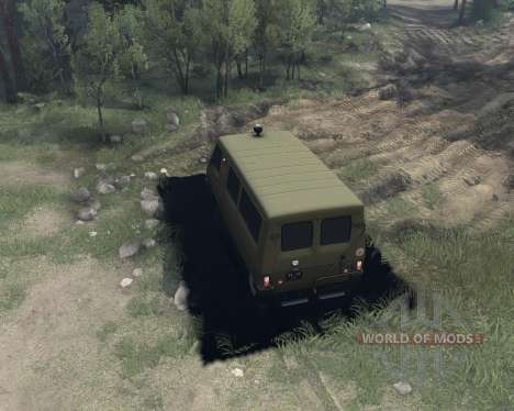 UAZ-3972 for Spin Tires