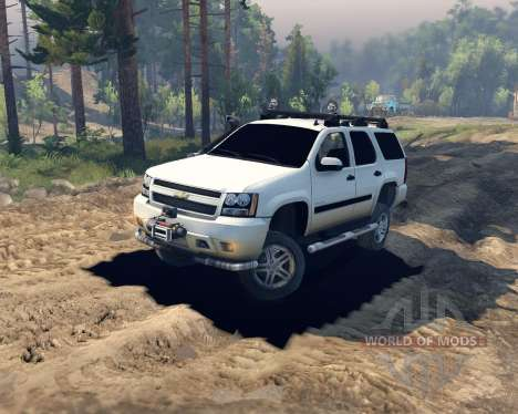 Chevrolet Tahoe for Spin Tires