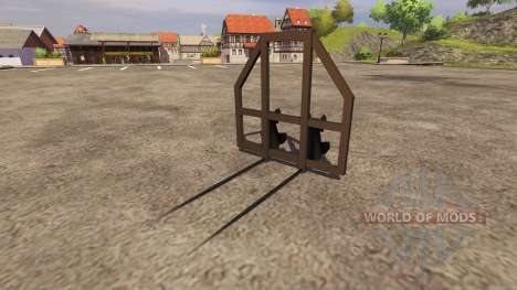 Gripper arms for Farming Simulator 2013