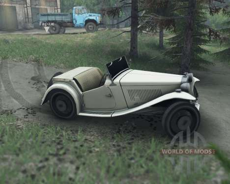MG TC Midget 48 for Spin Tires