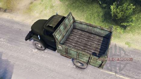 ZIL-53131 for Spin Tires