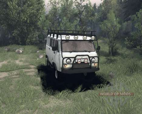 UAZ 3909 for Spin Tires