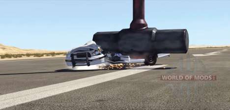 A giant sledgehammer for BeamNG Drive