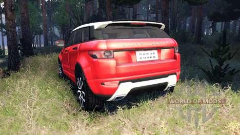 Range Rover Evoque for Spin Tires