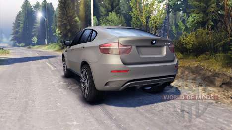 BMW X6 M v2.0 for Spin Tires
