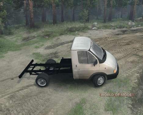 Gazelle 3302 for Spin Tires