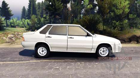 VAZ-2115 for Spin Tires