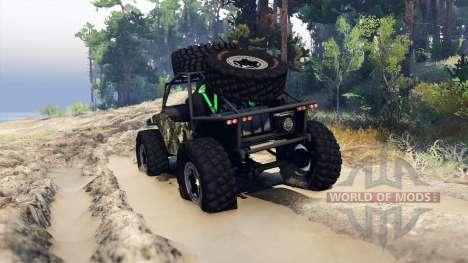 Suzuki Samurai Crawler for Spin Tires