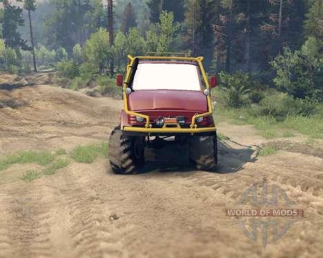 Unimog SWB for Spin Tires