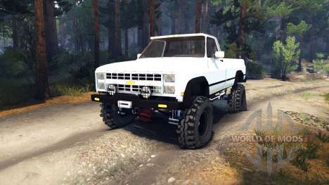 Chevrolet K20 Terror for Spin Tires