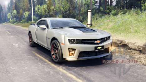 Chevrolet Camaro for Spin Tires