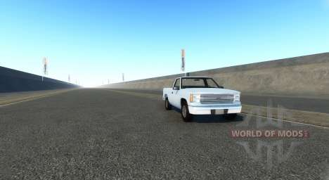 Endless highway for BeamNG Drive