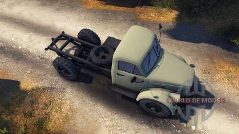 GAZ-63 for Spin Tires