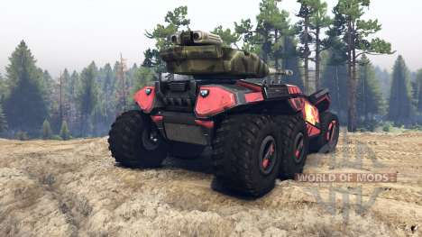 Beast skin 8 for Spin Tires