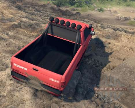 Dodge Ram 1500 for Spin Tires