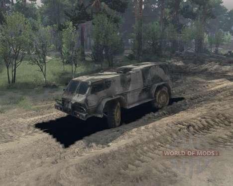 GAZ 3937 for Spin Tires