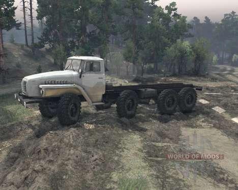 Ural 6614 v2 for Spin Tires