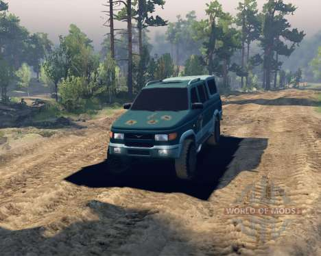 UAZ 23632 for Spin Tires