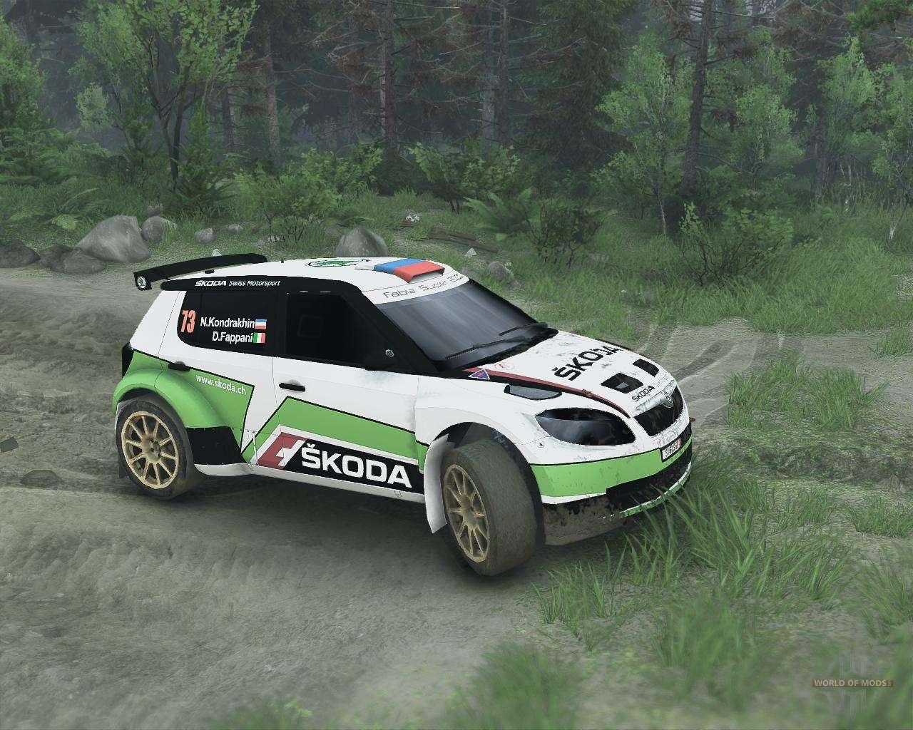 Rally Car Mods