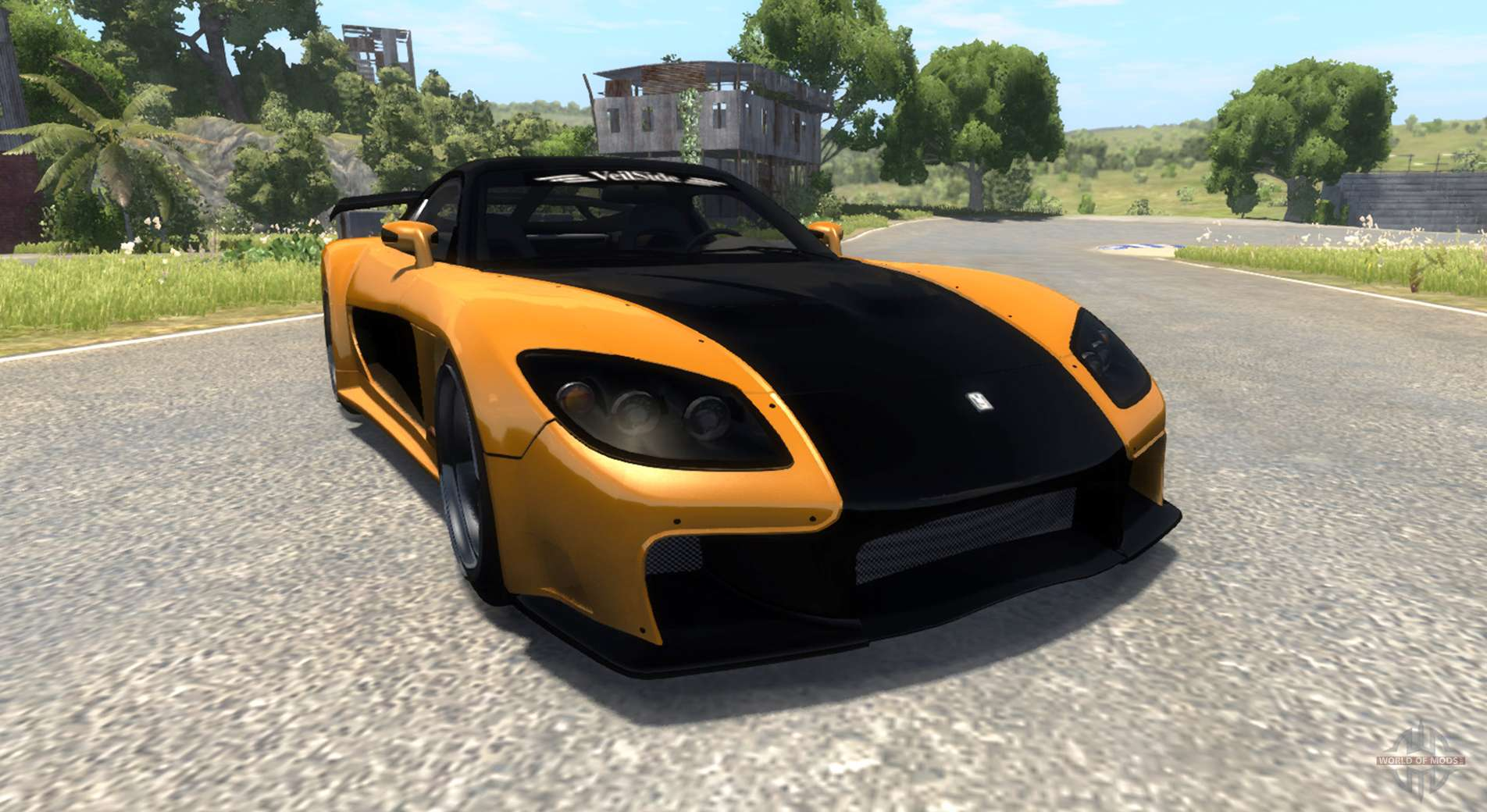 Dr Car: Mazda RX-7 For BeamNG Drive