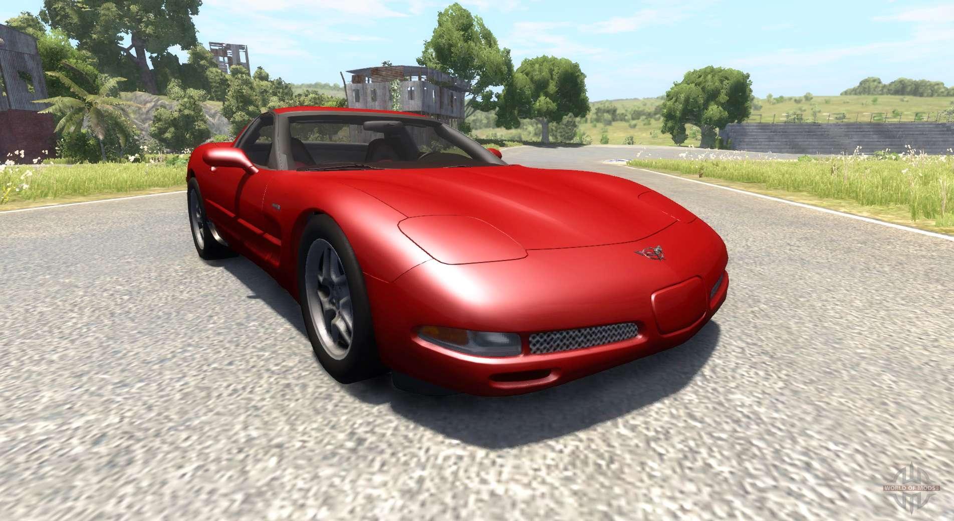 chevrolet corvette c5 for beamng drive. Black Bedroom Furniture Sets. Home Design Ideas