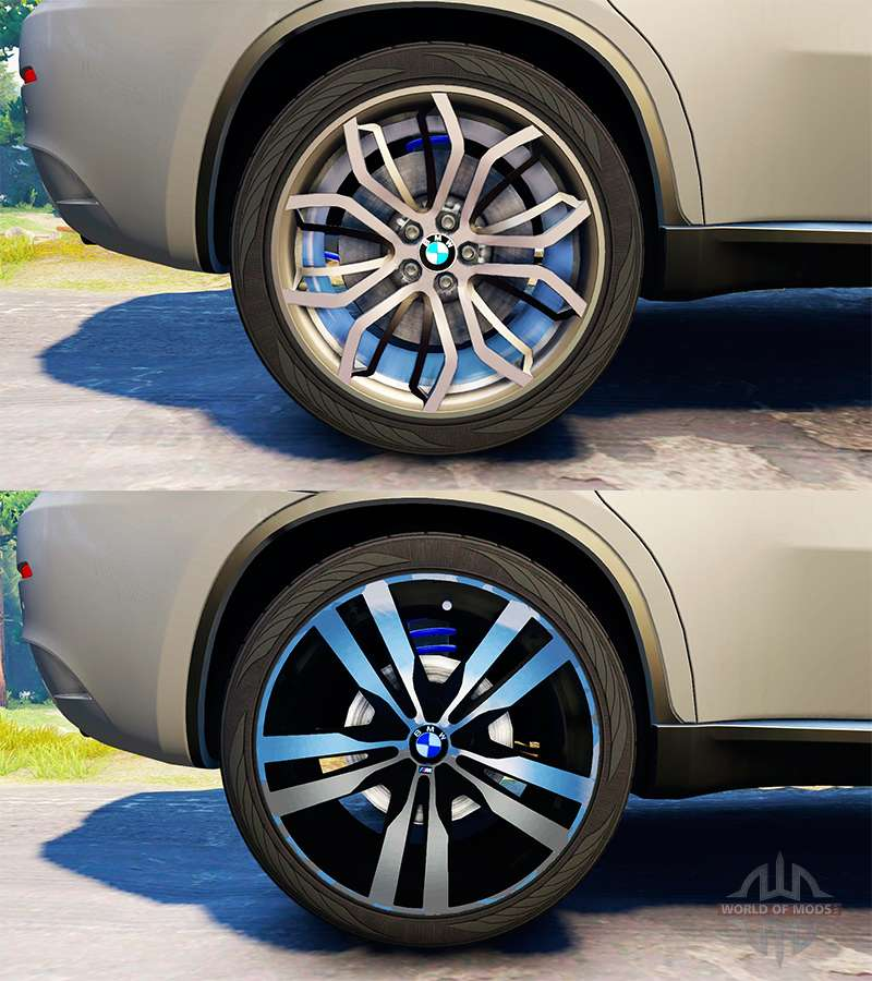 Bmw X6 M V2 0 For Spin Tires