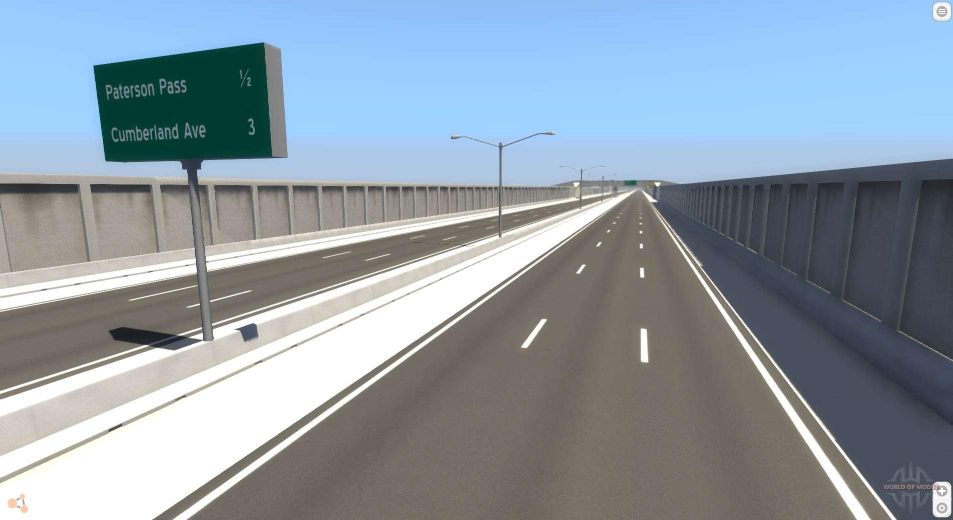 Highway Matrix for BeamNG Drive