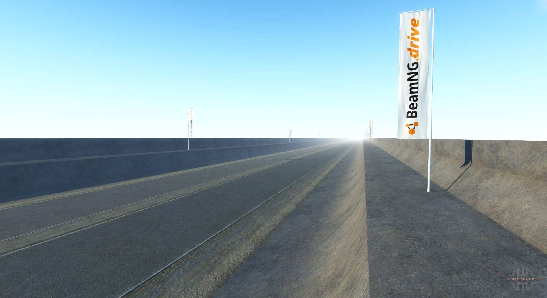 Drive: Endless Highway For BeamNG Drive