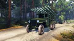 ZiS-5 BM-13 for Spin Tires