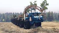 KrAZ 7E 6316 Trans-Siberia v1.1