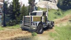 Peterbilt 379 v1.1 green for Spin Tires