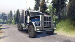 Peterbilt 379 black blue