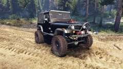 Jeep YJ 1987 black