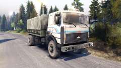 MAZ-5316 for Spin Tires