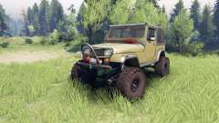 Jeep YJ 1987 green